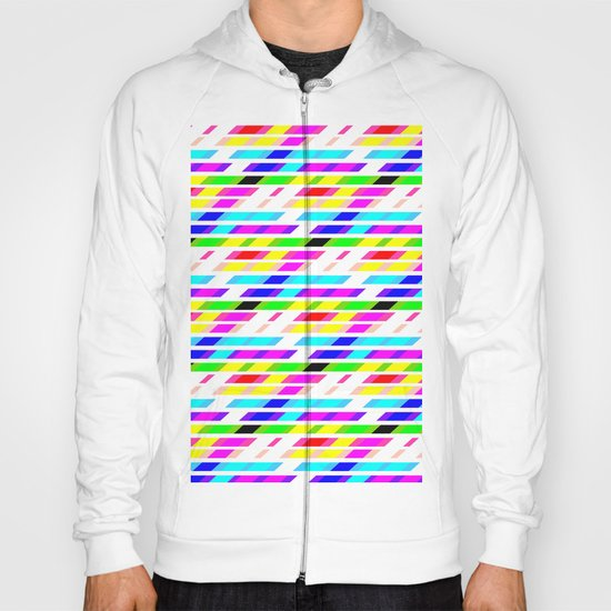 COLOURED STRIPES Hoody