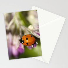 Ladybird in Spring Stationery Cards