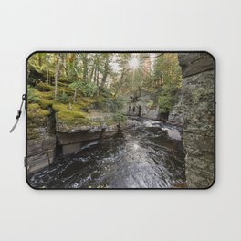 Sturgeon River Canyon in Michigan's Upper Peninsula Laptop Sleeve
