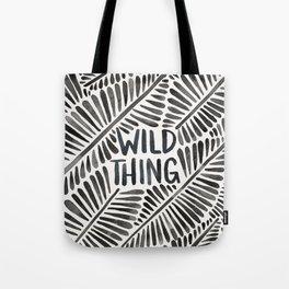 Wild Thing – Black Palette Tote Bag