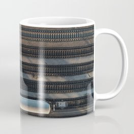 the lonely train Coffee Mug