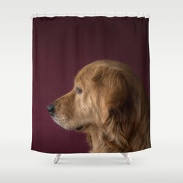 Dog by Josef Reckziegel Shower Curtain