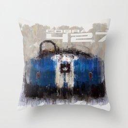 Shelby Cobra 427 Throw Pillow