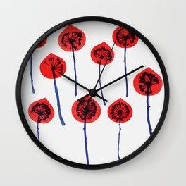 rise 1 Wall Clock
