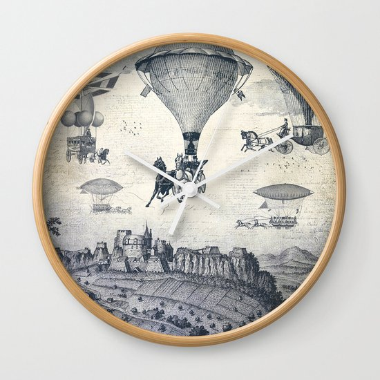 Carrilloons over the City Wall Clock