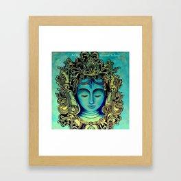 Green Tara Painting Framed Art Print