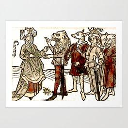 Circe in De claris mulieribus Art Print