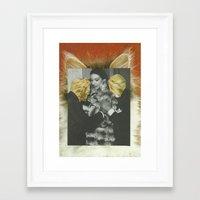 leopard Framed Art Prints featuring Leopard by Nicholas Lockyer