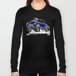 1941 WILLYS Classic Rodder - Blue Long Sleeve T-shirt