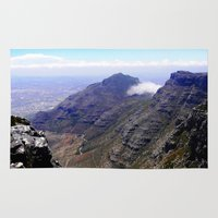 south africa Area & Throw Rugs featuring South Africa Impression 4 by Art-Motiva