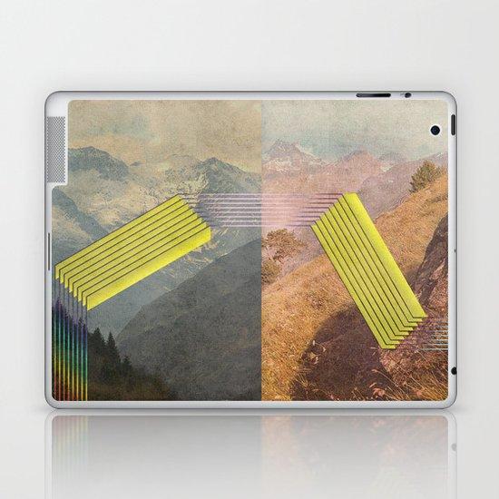 RAIN BOW MOUNTAINS Laptop & iPad Skin