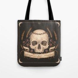 Memento Mori Tote Bag