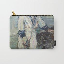 Henri de Toulouse-Lautrec - L'Enfant au chien, fils de Madame Marthe et la chienne Pamela, Taussat Carry-All Pouch