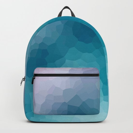 """Abstract pattern """" Amethyst """". Backpack"""