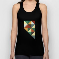 Geometric Nevada Unisex Tank Top
