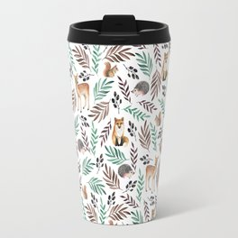 Cute forest. Watercolor Travel Mug
