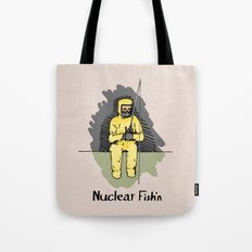 Nuclear Fish'n Tote Bag