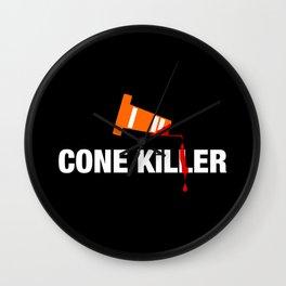 Cone Killer v1 HQvector Wall Clock