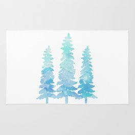 Tahoe Trees  Rug