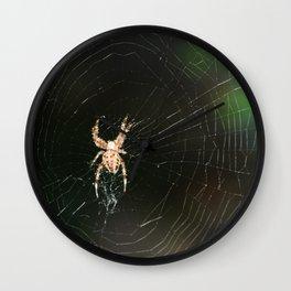 Spider  Wall Clock