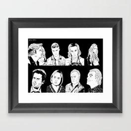 Rectify Framed Art Print