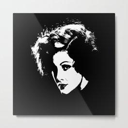 Myrna Loy Is Class Metal Print