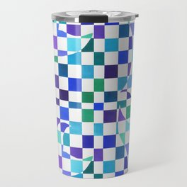 Freedom - cold colors Travel Mug