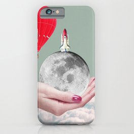 Airballoon Outerspace iPhone Case