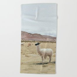 Alpaca Beach Towel