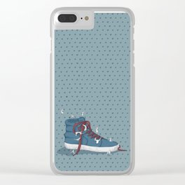 Where are you going? Clear iPhone Case