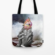 Heart on the Rocks Tote Bag