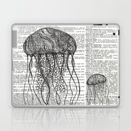 Free Floating Trio Laptop & iPad Skin