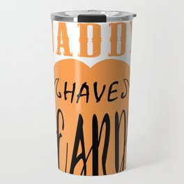 The Best Daddy have Beards Travel Mug