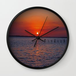 The Sovereign Sunset Wall Clock