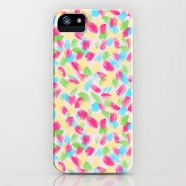 01 Loose Confetti iPhone Case