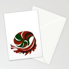 Abstract snail Stationery Cards