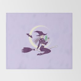 wicked Throw Blanket