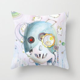 Androids Dream of Electric Sheep Throw Pillow