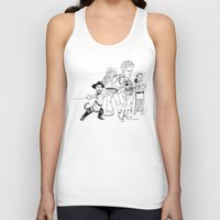 bastille Tank Tops featuring OPC Bastille by Other People's Characters