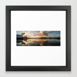 Westport bay Framed Art Print