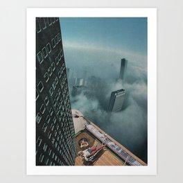 Sky high Kunstdrucke
