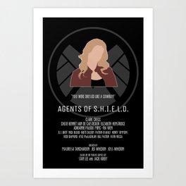 Agents of S.H.I.E.L.D. - Bobbi Art Print
