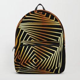 Rotating squares Backpack