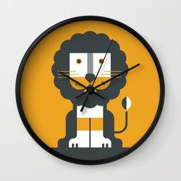 Loving Lion Wall Clock
