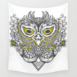 Owl in colors Wall Tapestry