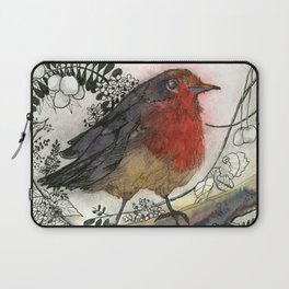 Just Be: Robin Red-Breast Laptop Sleeve