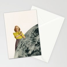 He Gave Her The Moon Stationery Cards