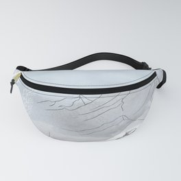 A Highland mountain hare Fanny Pack