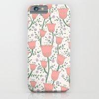Pastel Flowers Slim Case iPhone 6s