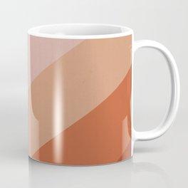 Chevron Geometry 3. Terracotta Coffee Mug